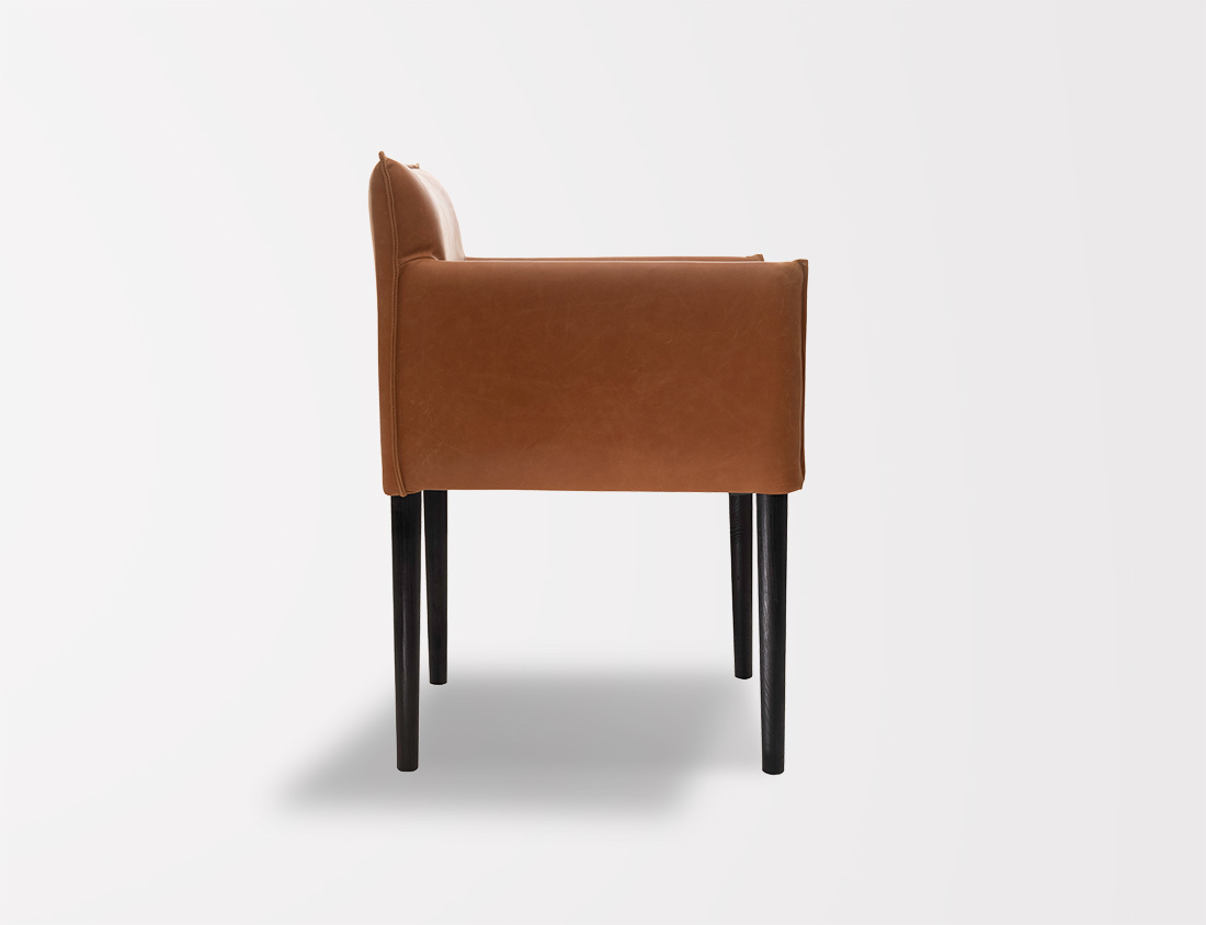 Aries Chair With Round Legs 2
