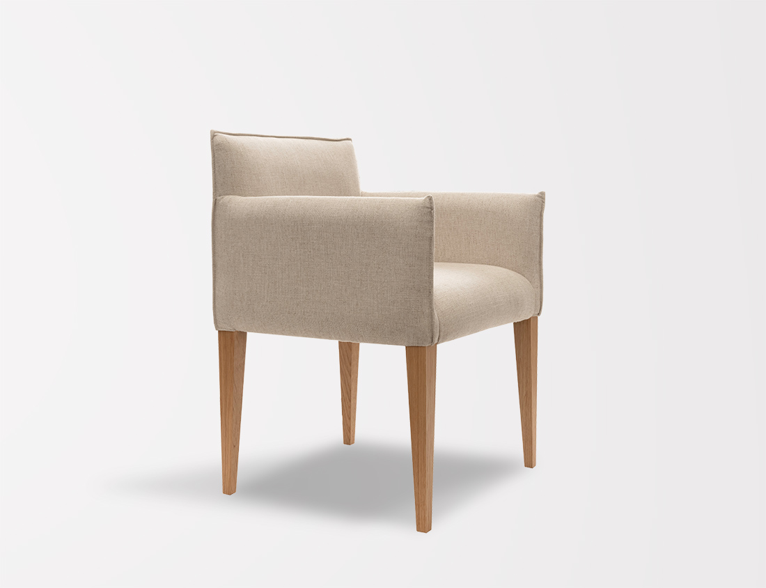 Aries Chair With Tapered Legs 1