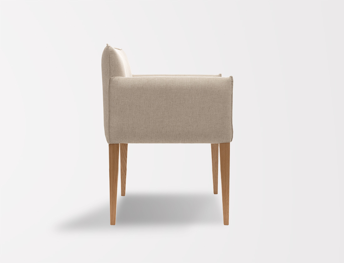 Aries Chair With Tapered Legs 2